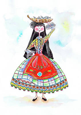 Maria Da Nazare Poster by Isabel Salvador
