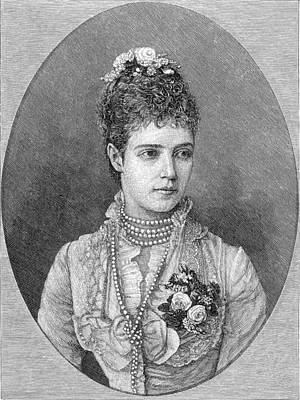 Maria Fyodorovna Poster by Granger