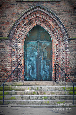 Maria Kyrka Church Door Poster by Antony McAulay