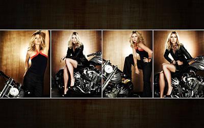 Maria Sharapova Widescreen Poster