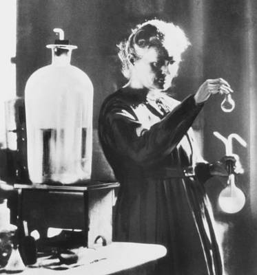 Marie Curie, A Polish-french Chemist Poster