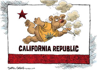 Marijuana Referendum In California Poster