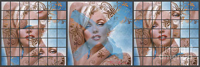 Marilyn 127 Tryp Poster