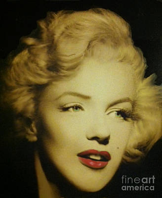Poster featuring the photograph Marilyn by Elizabeth Coats
