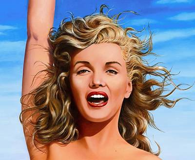 Marilyn Poster by James Robertson