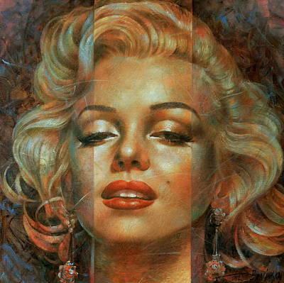 Marilyn Monroe Poster by Arthur Braginsky