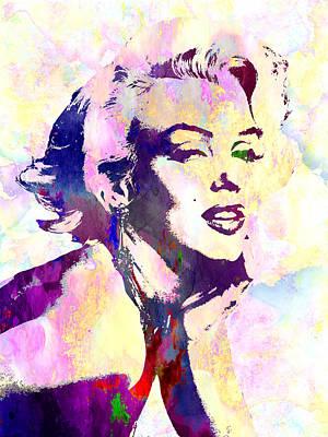 Marilyn Monroe Poster by Elena Kosvincheva
