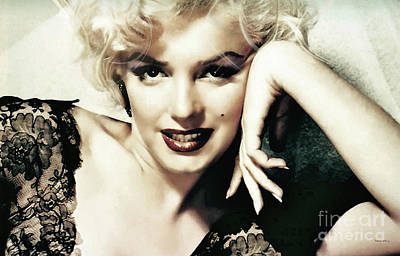 Marilyn Monroe, Norma Jeane Mortensen Poster by Thomas Pollart