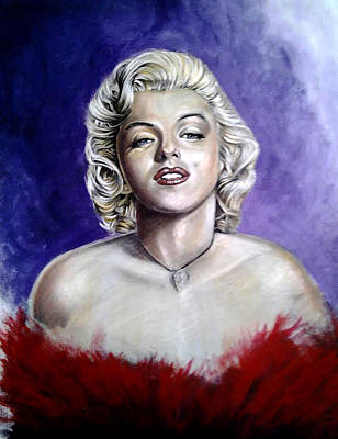 Marilyn Monroe Poster by Ole Hedeager Mejlvang