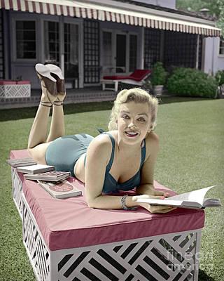 Marilyn Monroe Summer Reading Poster