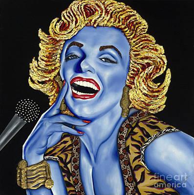 Marilyn Poster by Nannette Harris