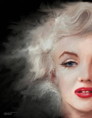 Marilyn... Some Like It Hot Poster by Mark Tonelli