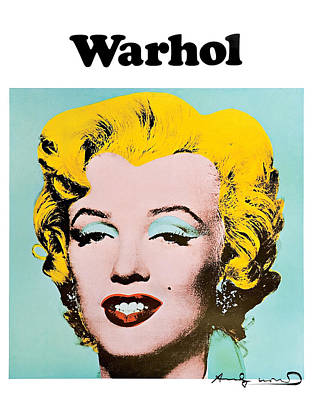 Marilyn Warhol Poster by Vitor Costa