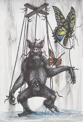 Marionette Monarchy Poster by Tai Taeoalii