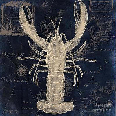 Maritime Blues Iv Poster