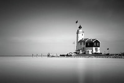 Marken Lighthouse Poster by Ivo Kerssemakers