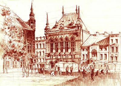 Market Square Poster