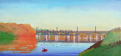Market Street Bridge Poster by John Whitney