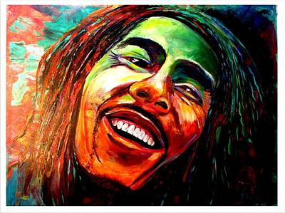 Marley Poster by Ken Pridgeon