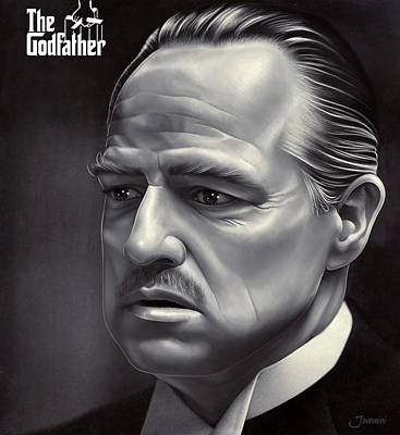 Marlon Brando Drawing  Poster by Jovemini ART