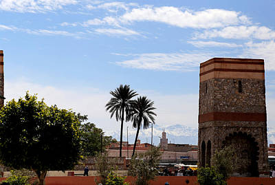 Poster featuring the photograph Marrakech 2 by Andrew Fare