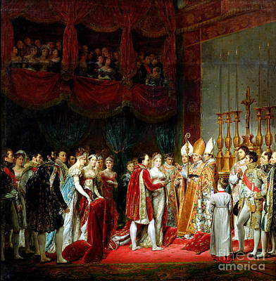 Marriage Of Napoleon I And Marie Louise Poster