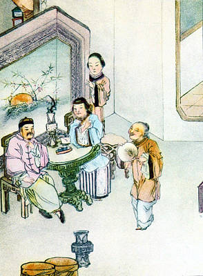 Marriage Proposal, China, 19th Century Poster