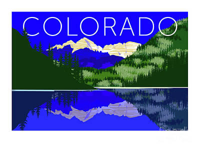 Maroon Bells Day Poster
