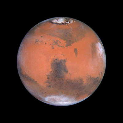 Poster featuring the photograph Mars by Artistic Panda