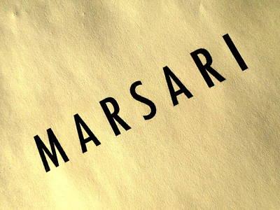 Marsari Gold Poster