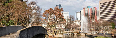 Marshall Park Charlotte Panorama Photo Poster by Paul Velgos