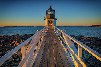 Marshall Point Light Station Poster by Rick Berk