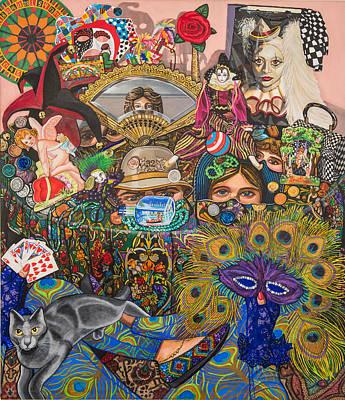 Martigras Masquerade Poster