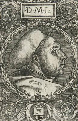 Martin Luther, 1521 Poster by Albrecht Altdorfer