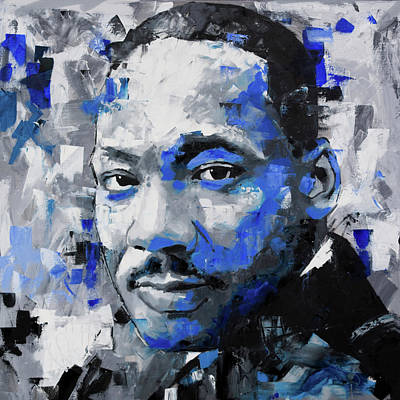 Martin Luther King Jr Poster by Richard Day