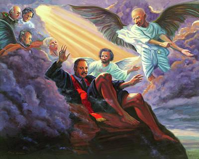 Martin Luther King Jr Poster by Steve Simon
