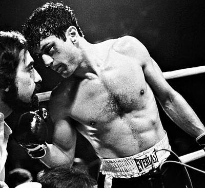 Martin Scorsese And Robert Deniro Publicity Photo Raging Bull 1 1980 Poster by David Lee Guss