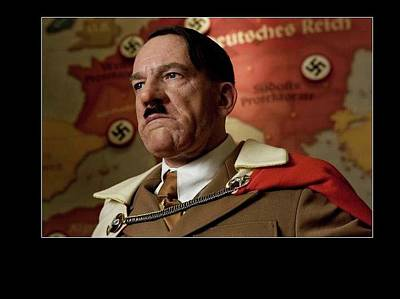 Martin Wuttke As Adolf Hitler Number Two Inglourious Basterds 2009 Frame Added 2016 Poster