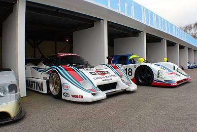 Martini Le Mans Poster by Robert Phelan