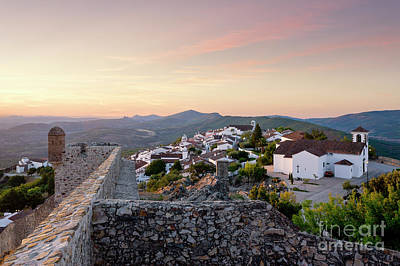 Marvao At Dawn Poster by Mikehoward Photography