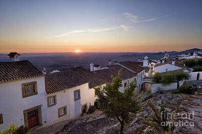 Marvao Dawn Poster by Mikehoward Photography