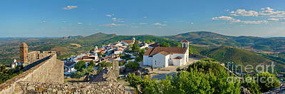 Marvao, The Walled Medieval Town Poster by Mikehoward Photography