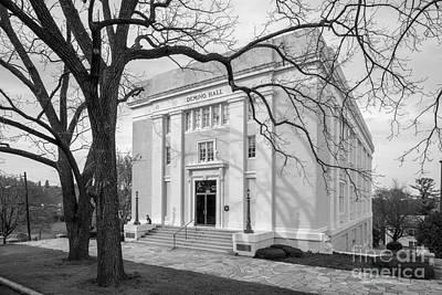 Mary Baldwin University Deming Hall Poster