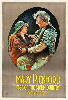 Mary Pickford In Tess Of The Storm Country 1922 Poster
