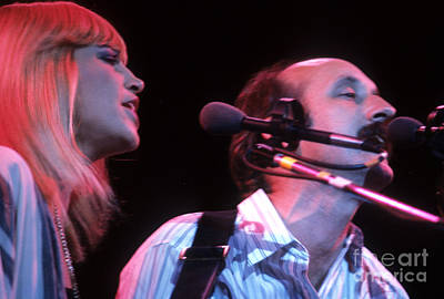 Mary Travers And Peter Yarrow Poster