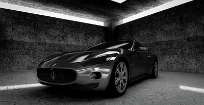 Maserati Gt Poster by Piro4d