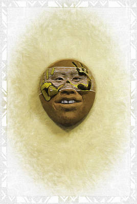 Mask 5 Poster by Don Lovett