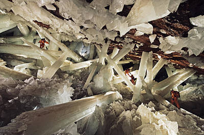 Massive Beams Of Selenite Dwarf Poster by