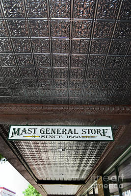 Poster featuring the photograph Mast General Store II by Skip Willits