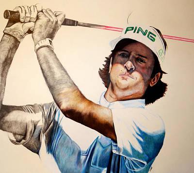 Masters Champ Poster by Jake Stapleton
